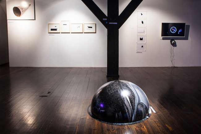polish contemporary art in gallery in poland exhibition