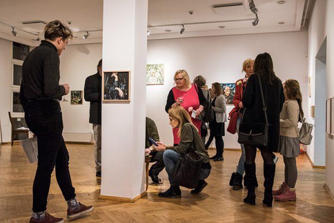 Twilight exhibition in BWA Olsztyn by polish artist urszula kluz-knopek